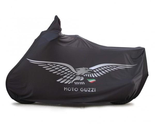 Garaje plegable original V7 Aquila, negro para Moto Guzzi V7 I + II, V7 III / V7 850