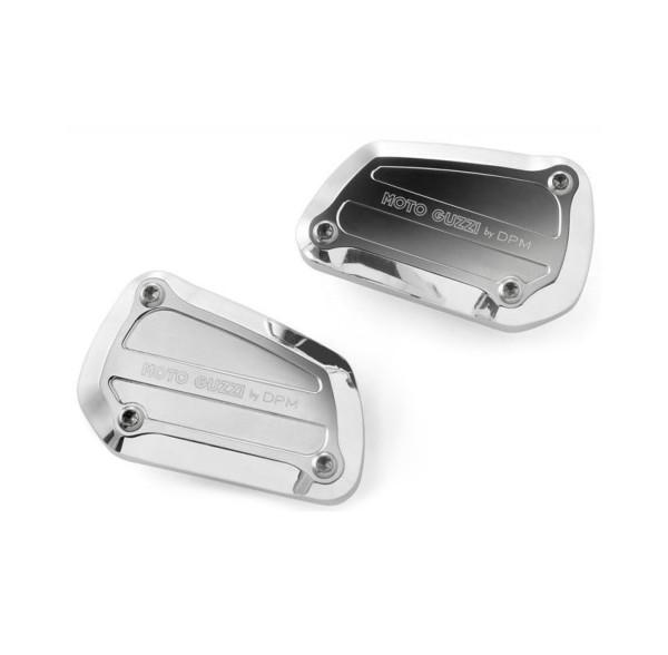 Tapa original para cilindro maestro de freno, aluminio, plateado para Moto Guzzi Eldorado / California