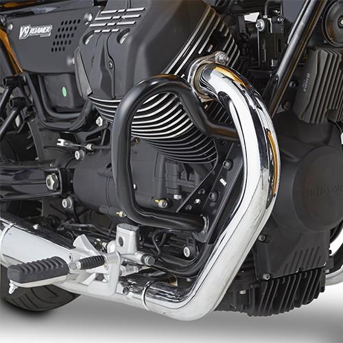 Protector de motor negro para Moto Guzzi Original Givi