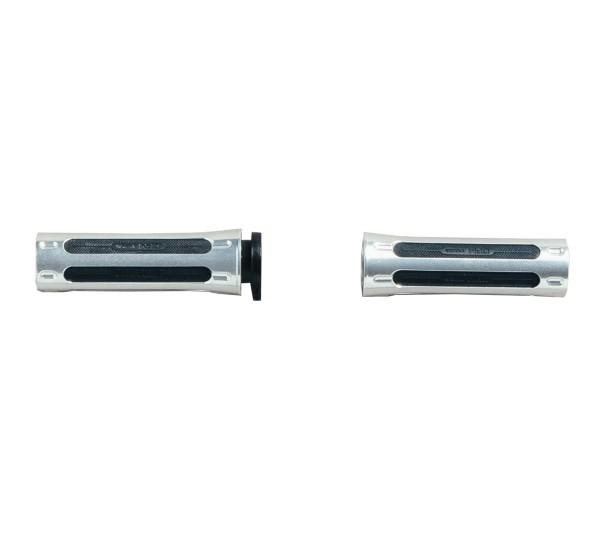 Juego de goma de agarre, aluminio Moto Guzzi para V9 Roamer / Bobber