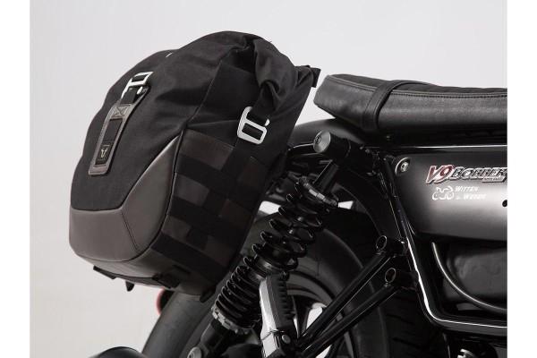 Set de maletas laterales Moto Guzzi V9 Roamer / Bobber (16-) SW Motech Legend Gear