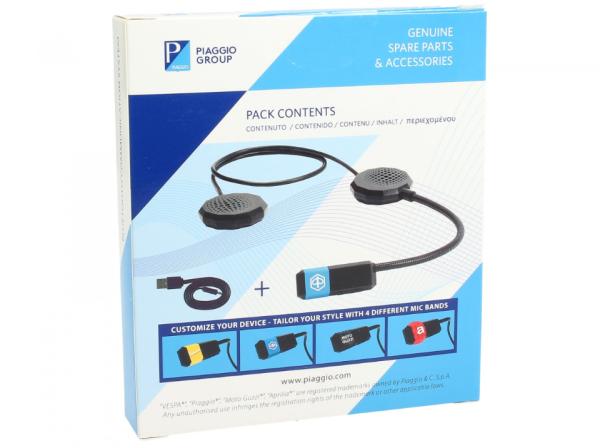 Sistema de comunicación Bluetooth Vespa / Piaggio / Aprilia / Moto Guzzi