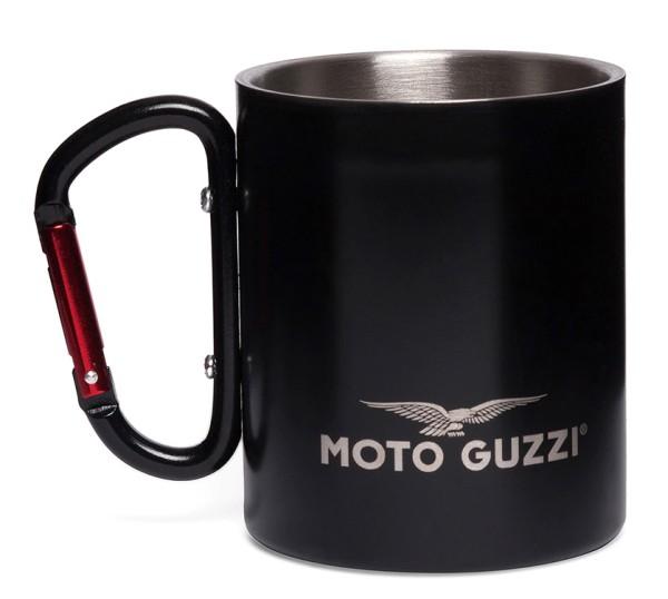 Copa Moto Guzzi aluminio negro