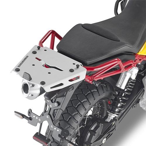 Portaequipajes superior de aluminio para Moto Guzzi V85 TT (Bj.19-) original Givi