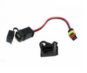 Puerto USB original para Moto Guzzi Audace / California / Eldorado