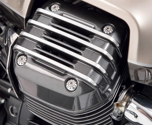 Tapa original para culata, gris para Moto Guzzi Audace / California / Eldorado