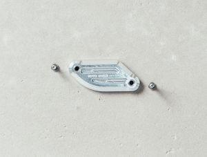Abdeckung für Bremsflüssigkeitsbehälter silber für Moto Guzzi V7 III/ V9 Bobber/ V9 Roamer