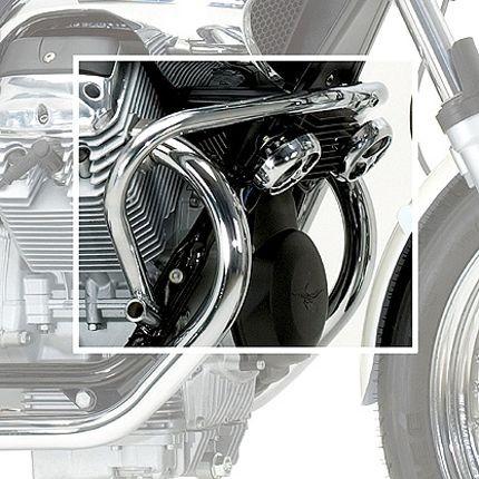 Barra de protección del motor Moto Guzzi Nevada cromada