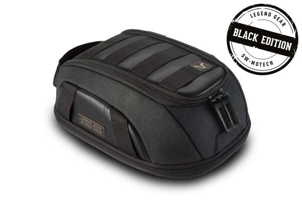 Bolsa sobredepósito LT1 Black Edition Moto Guzzi V9 Roamer / Bobber (15-18), LH / KP Legend Gear SW Motech