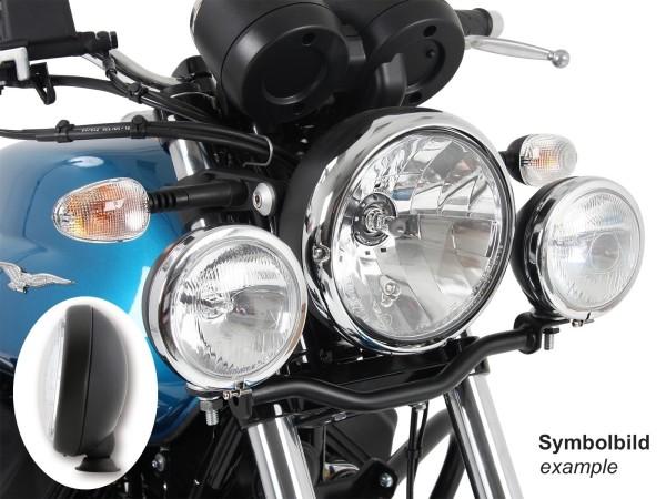 Twinlight set faros adicionales negro para V 7 III stone / special / Anniversario / Racer (Bj.17-)