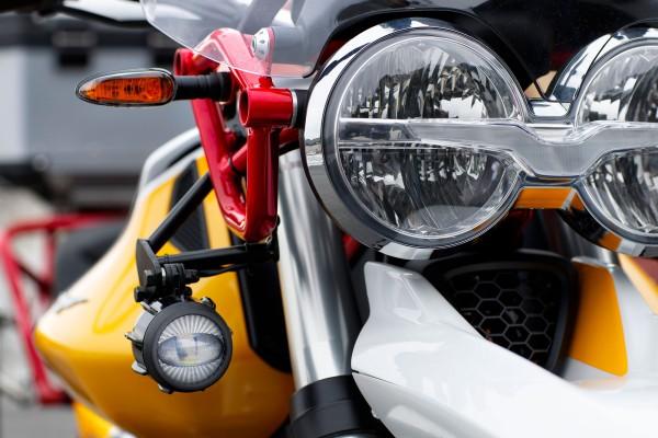 Faros antiniebla LED para Moto Guzzi V85 TT incluido kit de instalación
