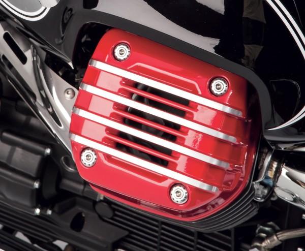 Tapa original para culata (par), roja para Moto Guzzi Eldorado