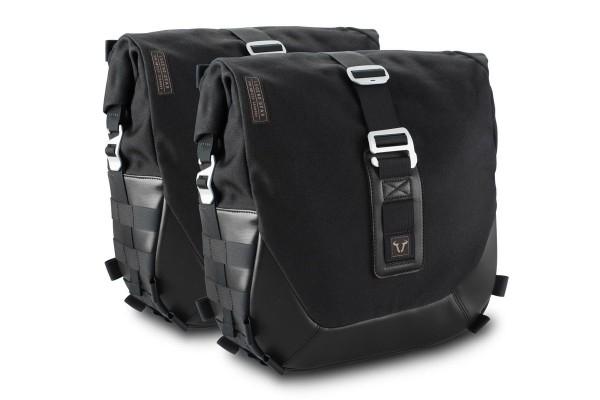 Sistema de maletas laterales Legend Gear LC Black Edition para Moto Guzzi V7 III SW Motech