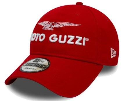 Moto Guzzi Base Cap Garage rojo