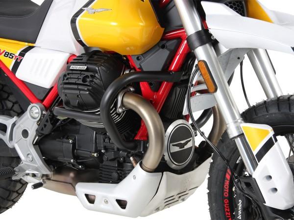 Barra de protección del motor negra para V85 TT (Bj.19-) original Hepco & Becker