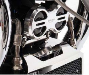 Cubre claxon original, aluminio, titanio para Moto Guzzi Eldorado / California