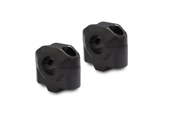 Elevador de manillar 25 mm negro para Moto Guzzi V7 III (16-) SW Motech