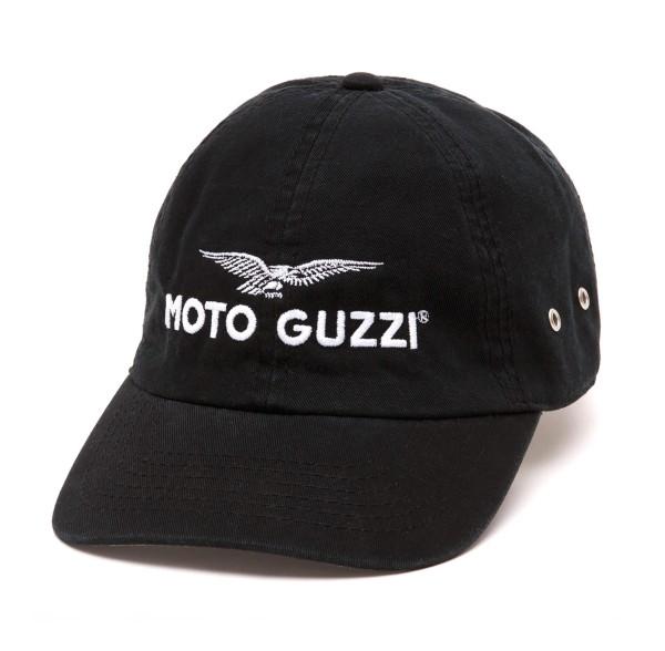 Gorra Moto Guzzi Base THE CLAN negro