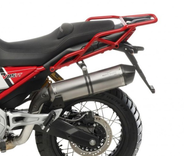 Silenciador slip-on ARROW para Moto Guzzi V85 TT