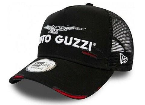 Moto Guzzi Base Cap Trucker negro