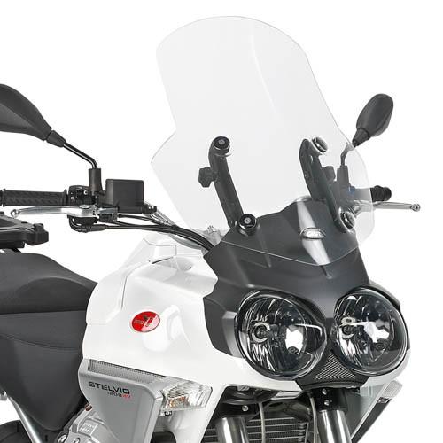 Cúpula transparente para Moto Guzzi Stelvio 1200 (Bj.08-10) original Givi
