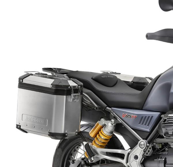 Juego de maletas originales de aluminio Moto Guzzi V85 TT