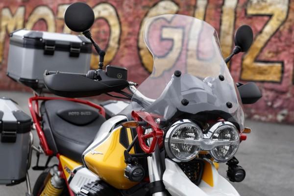 Parabrisas touring original para Moto Guzzi V85 TT