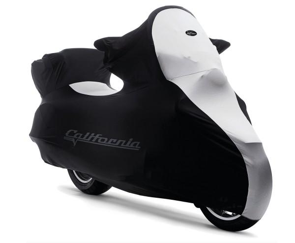 Garaje interior plegable original, Moto Guzzi California, negro, blanco