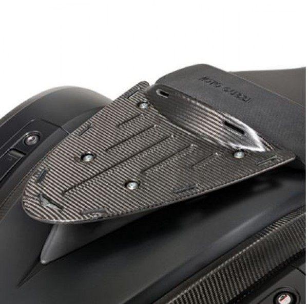 Portaequipajes original, trasero, carbono para Moto Guzzi MGX 21
