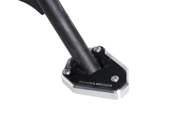 Placa de caballete lateral para V85 TT (Bj.2020-) original Hepco & Becker