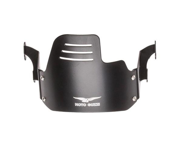 Cubierta de faro original, negra para Moto Guzzi V9 Bobber
