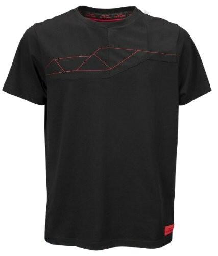 Camiseta de hombre Moto Guzzi V85TT algodón negro